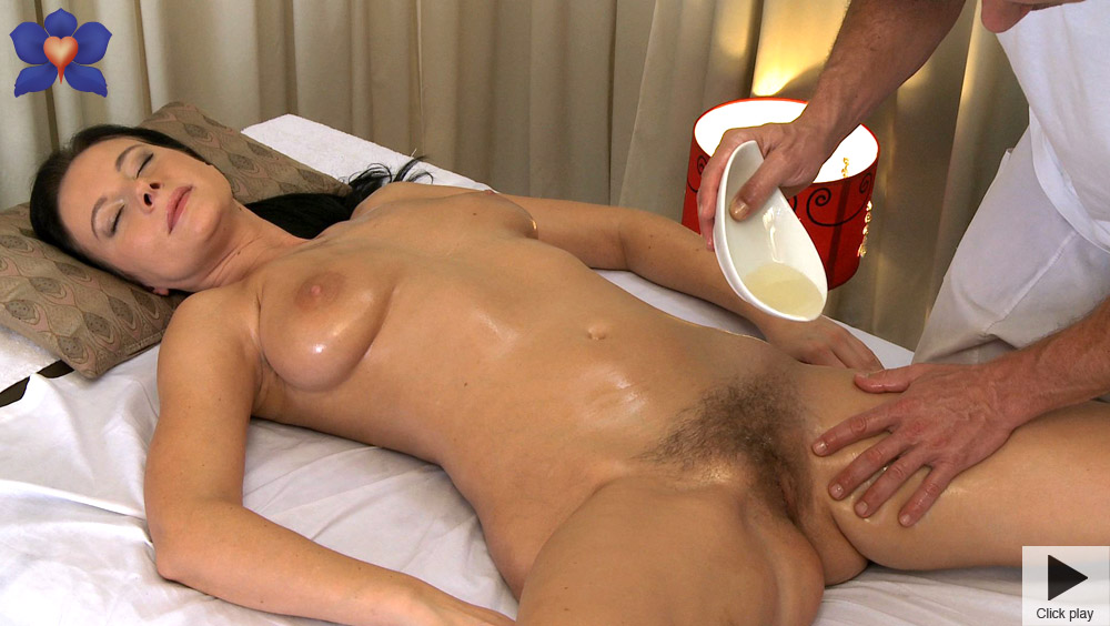 Can oil massage porno