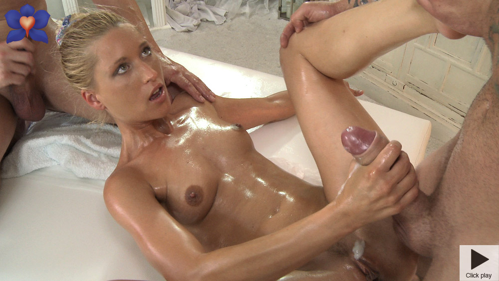 Wow what redhead oily massage think that's